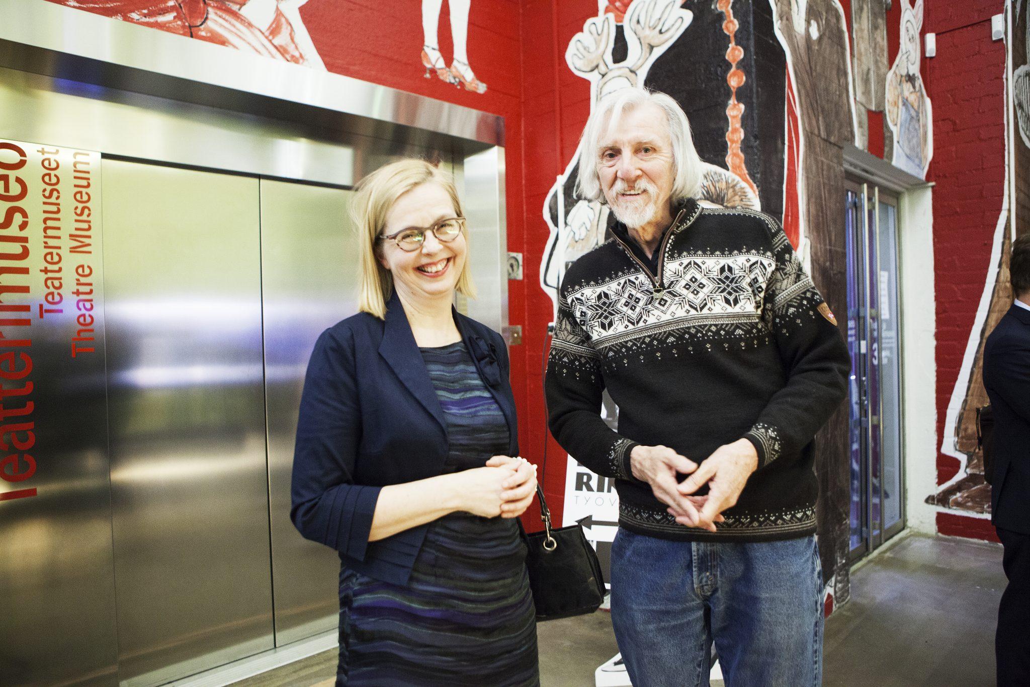 Elina Heikka with Arno Rafael Minkkinen
