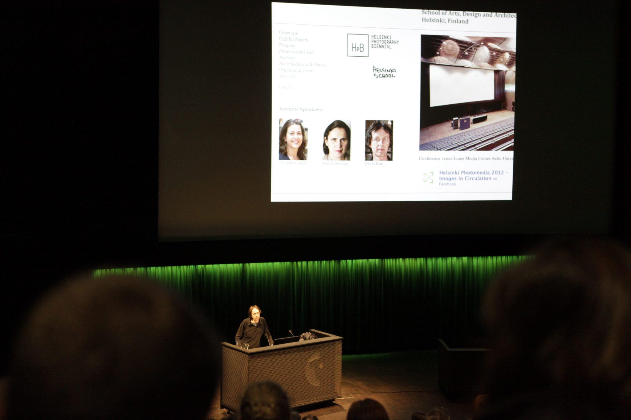 Keynote 2012 – David Bate