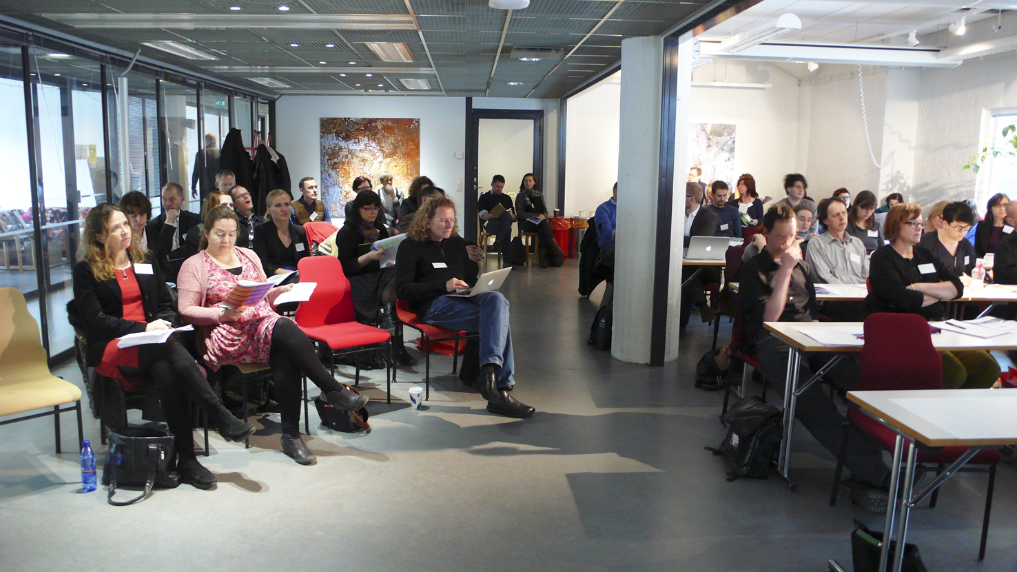 Audience at MediaFactory spaces