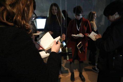 Nita Vera, Laura Katariina Rämö and Mark McGuinnes at Parallel Review Lisboa!